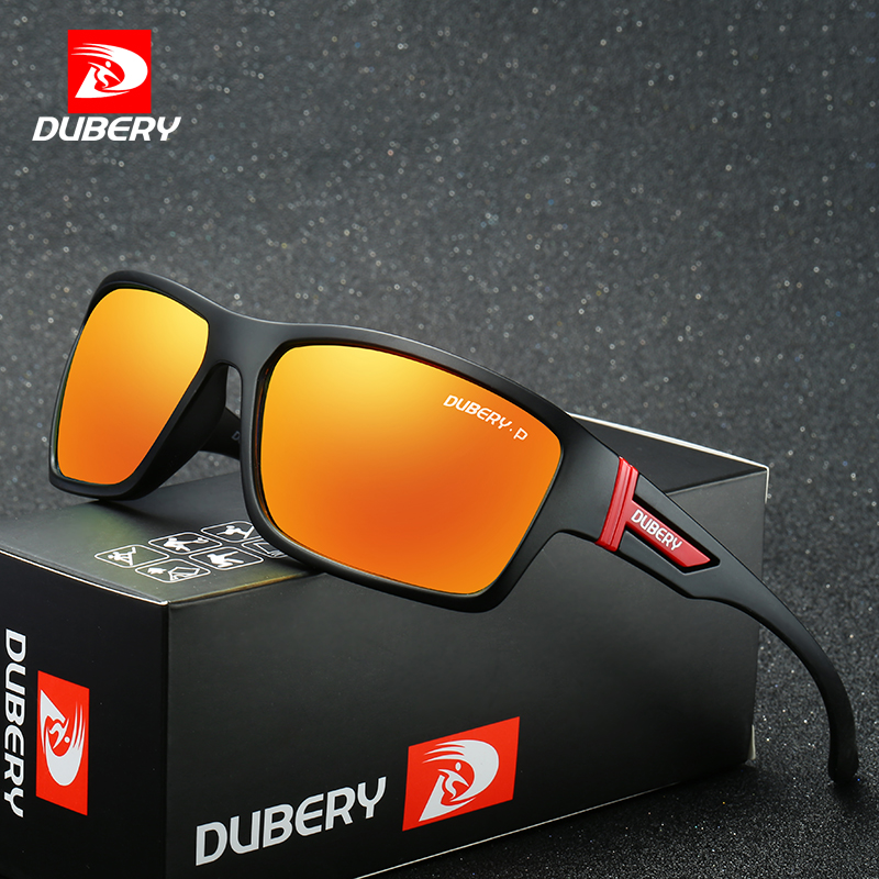 DUBERY Polarized Sunglasses Men's Aviation Driving Shades Male Sun Glasses For Men Safety 2017 Luxury Brand Designer Oculos